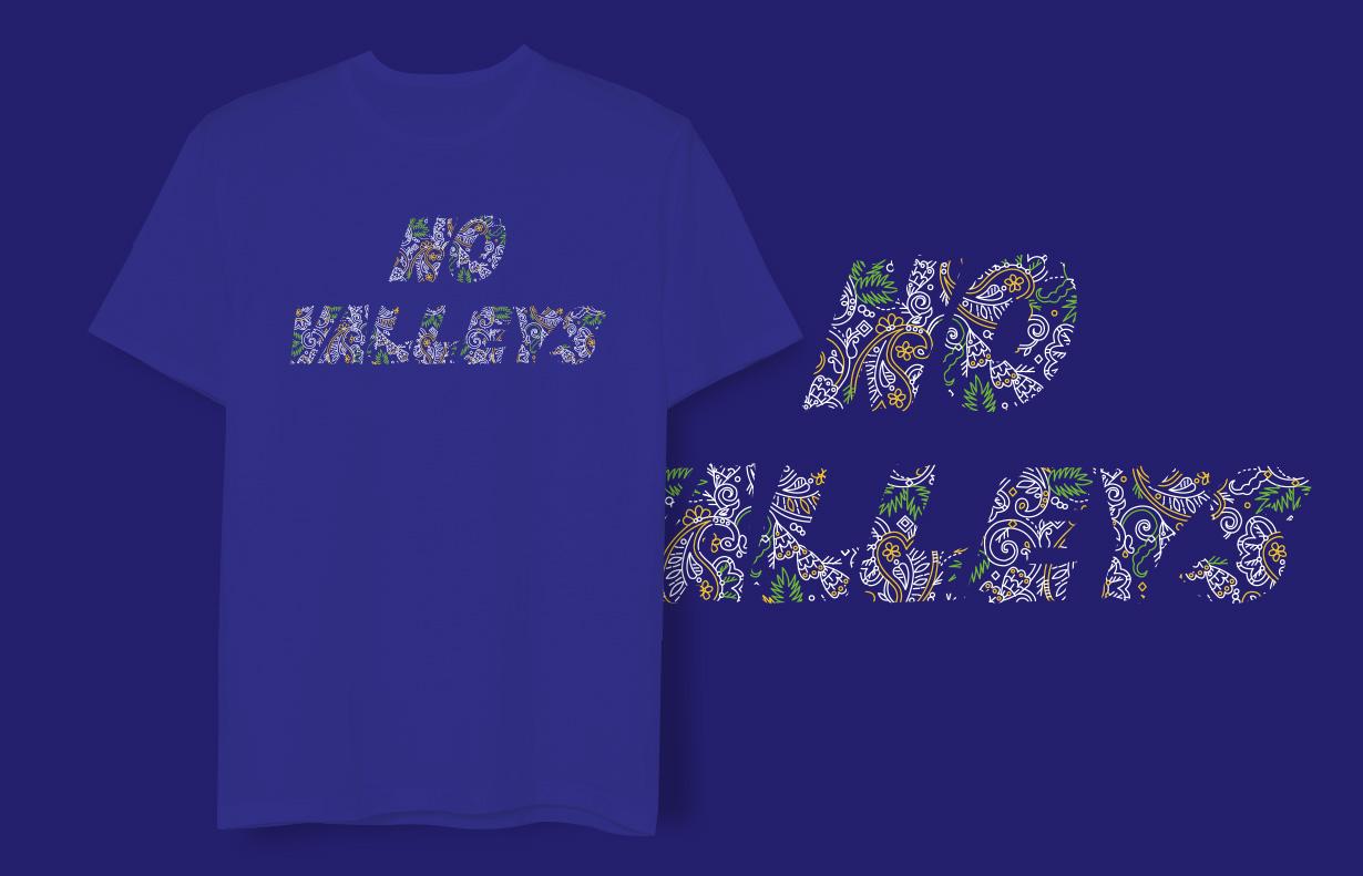 WEGO 2012年SS Tシャツ NO VALLEYS 1