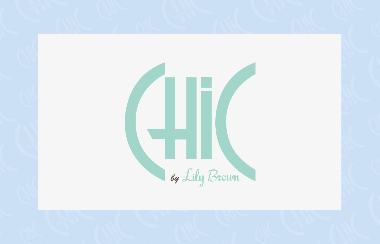 CHIC by Lily Brown ロゴデザイン3
