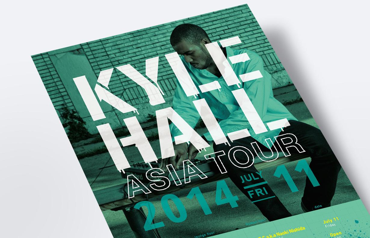 Kyle Hall フライヤー1