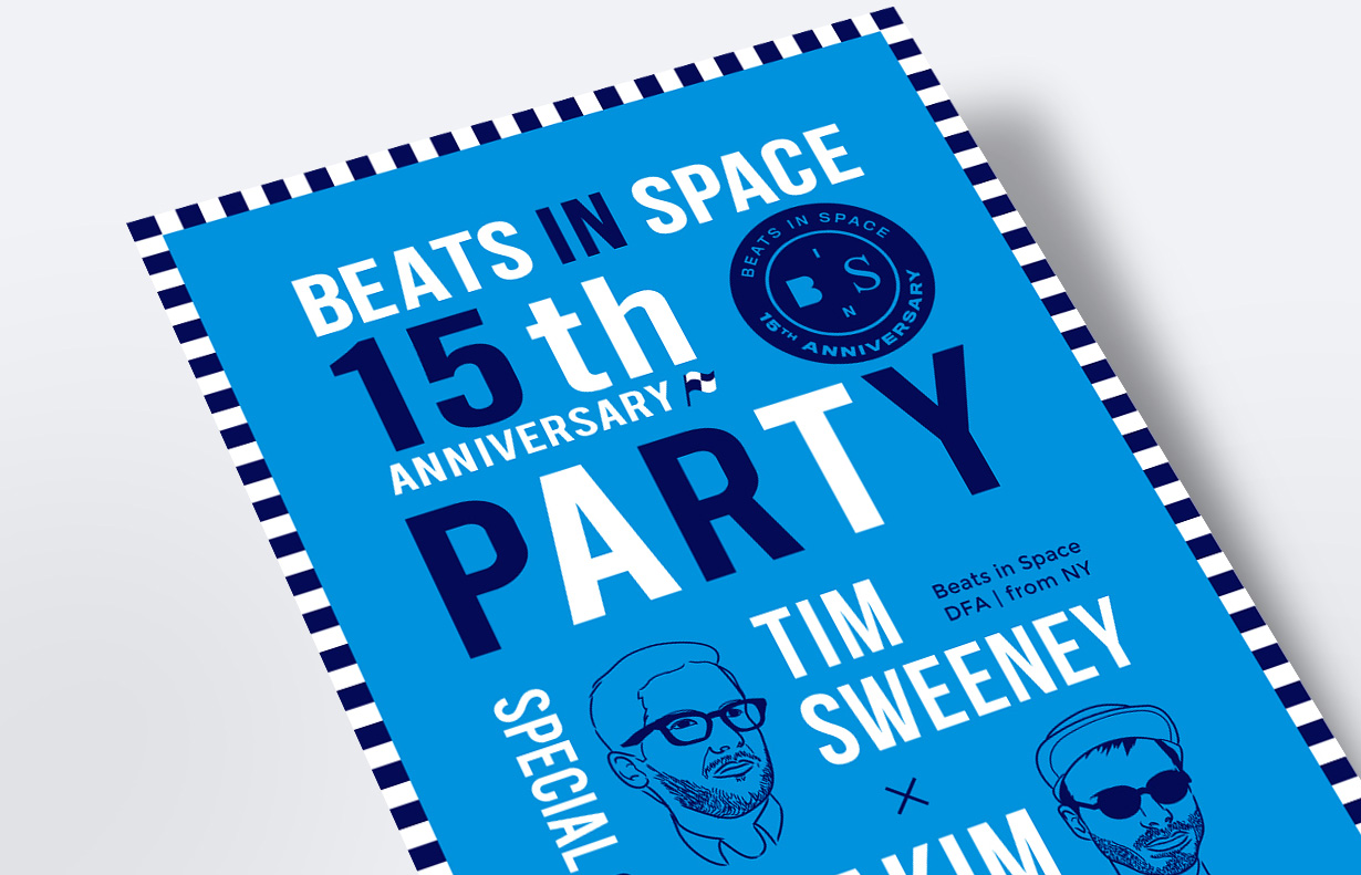 beats in Space 15year anniversary party