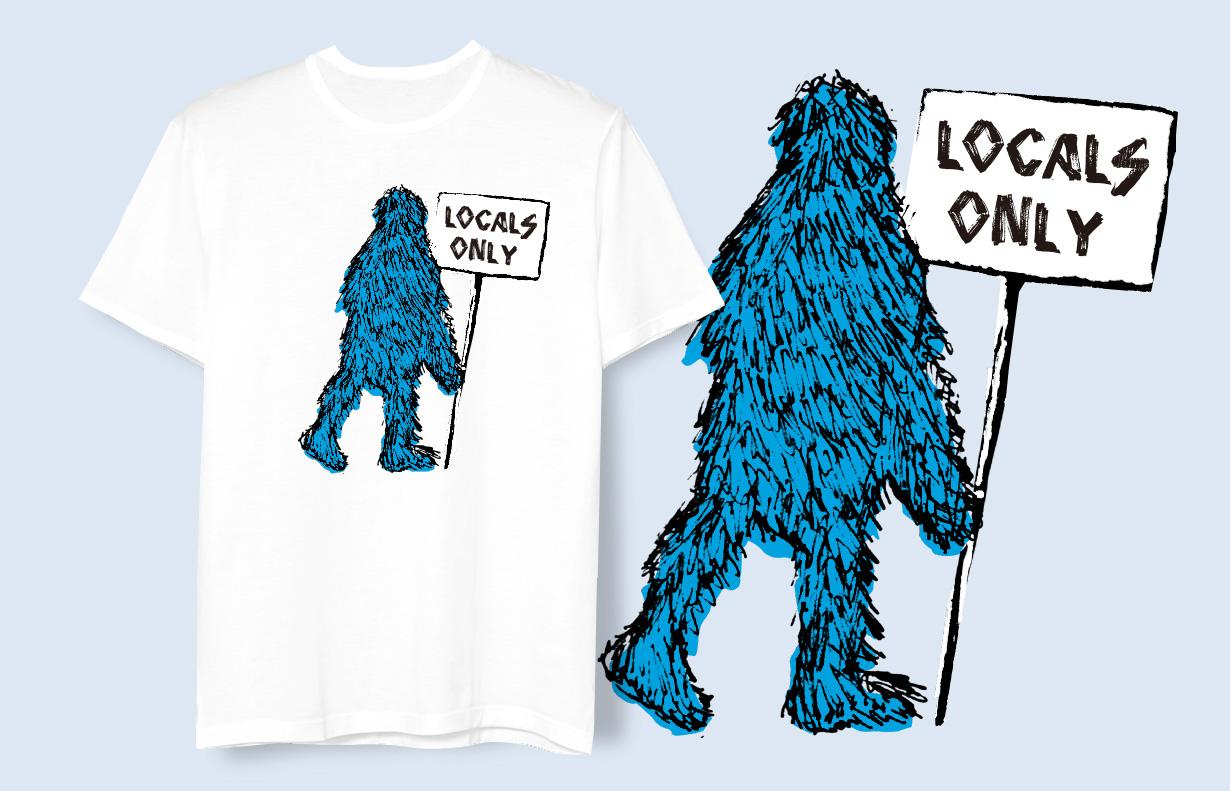 WEGO 2012年SS Tシャツ LOCALS ONLY 1